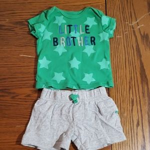 Carter's 3m shorts and shirt